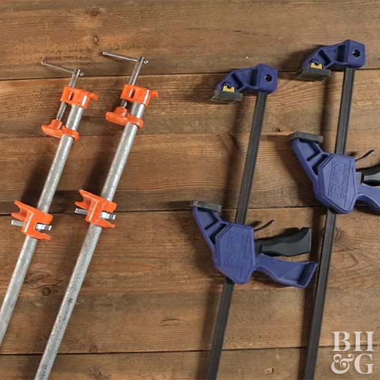 How To Use Wood Clamps Better Homes Gardens