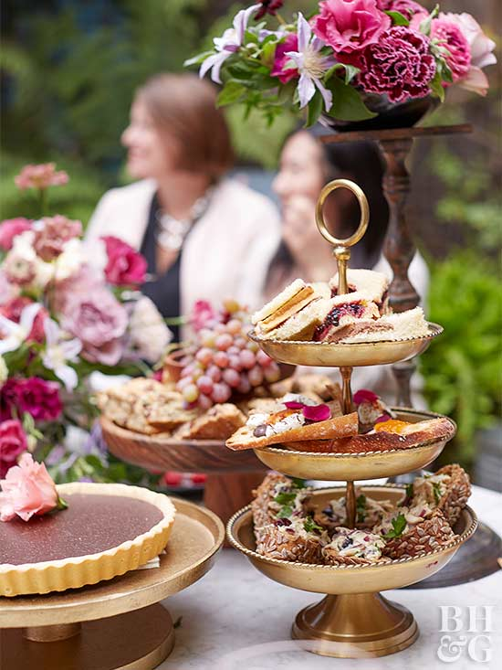 Host A Gorgeous Afternoon Garden Party