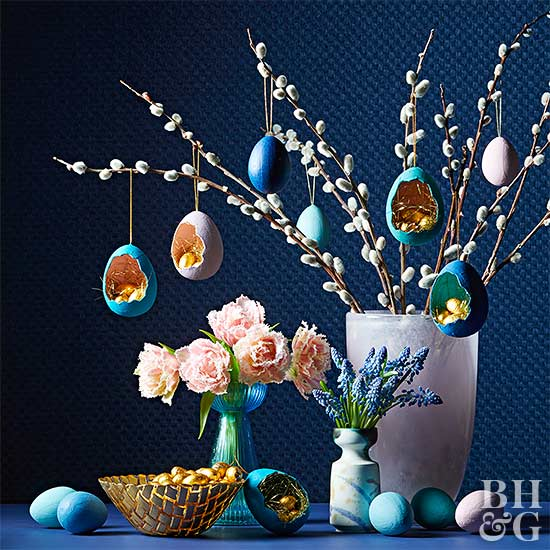 9 Gorgeous Easter Tree Decorations