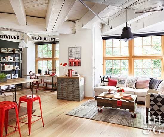 This Loft Makeover Makes the Most of 890 Square Feet