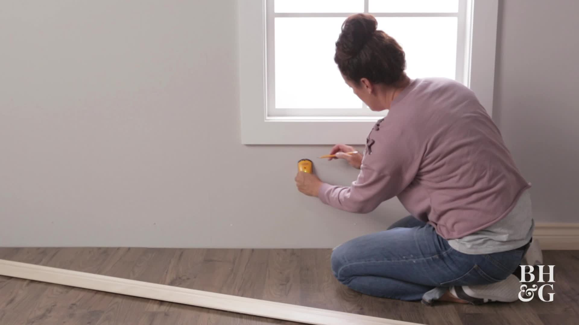 How To Install Baseboard Molding Better Homes Gardens
