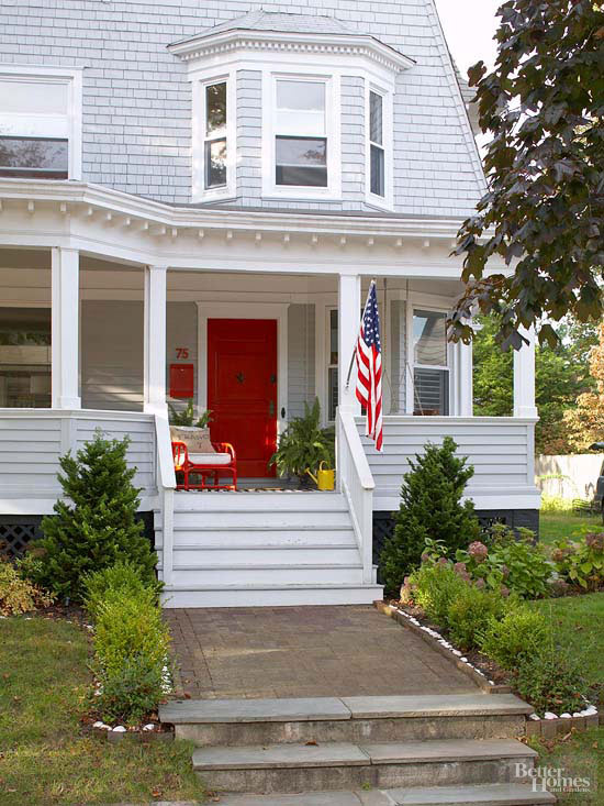 How to Spruce Up an Entry Door with Trim