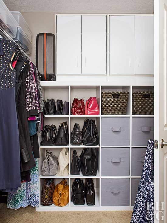 This Messy Master Closet Went From Overflowing to Organized
