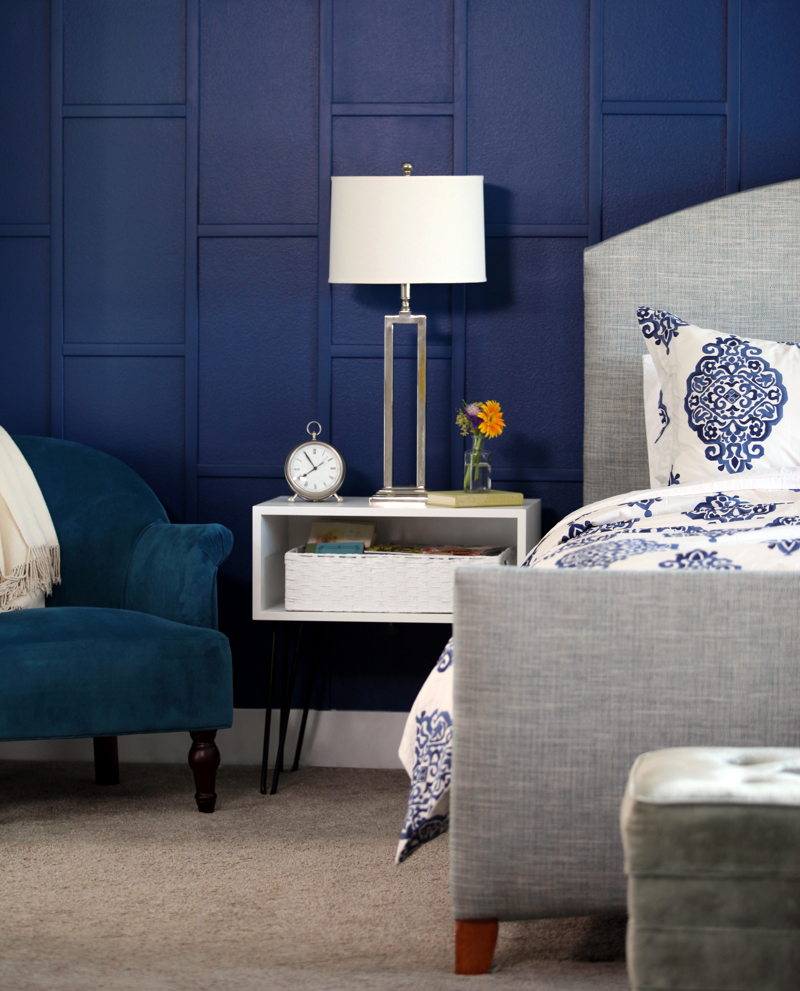 This Glam Bedroom Makeover Was Done in a Weekend