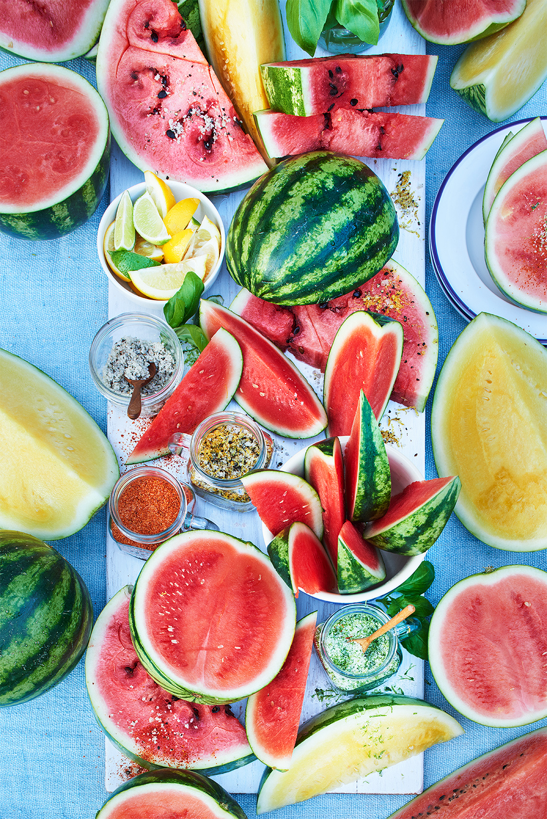 Serve a Summer Watermelon Bar