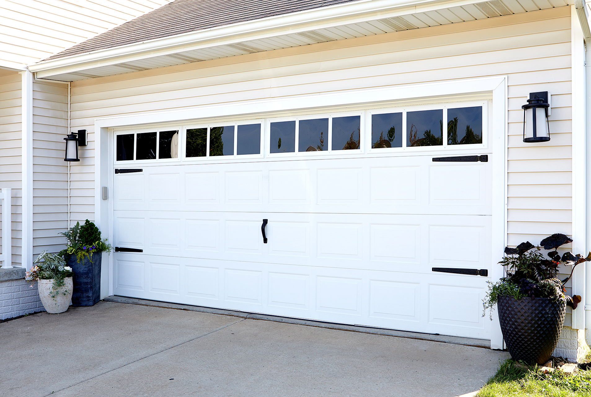 How To Install Garage Door Hardware Better Homes Gardens