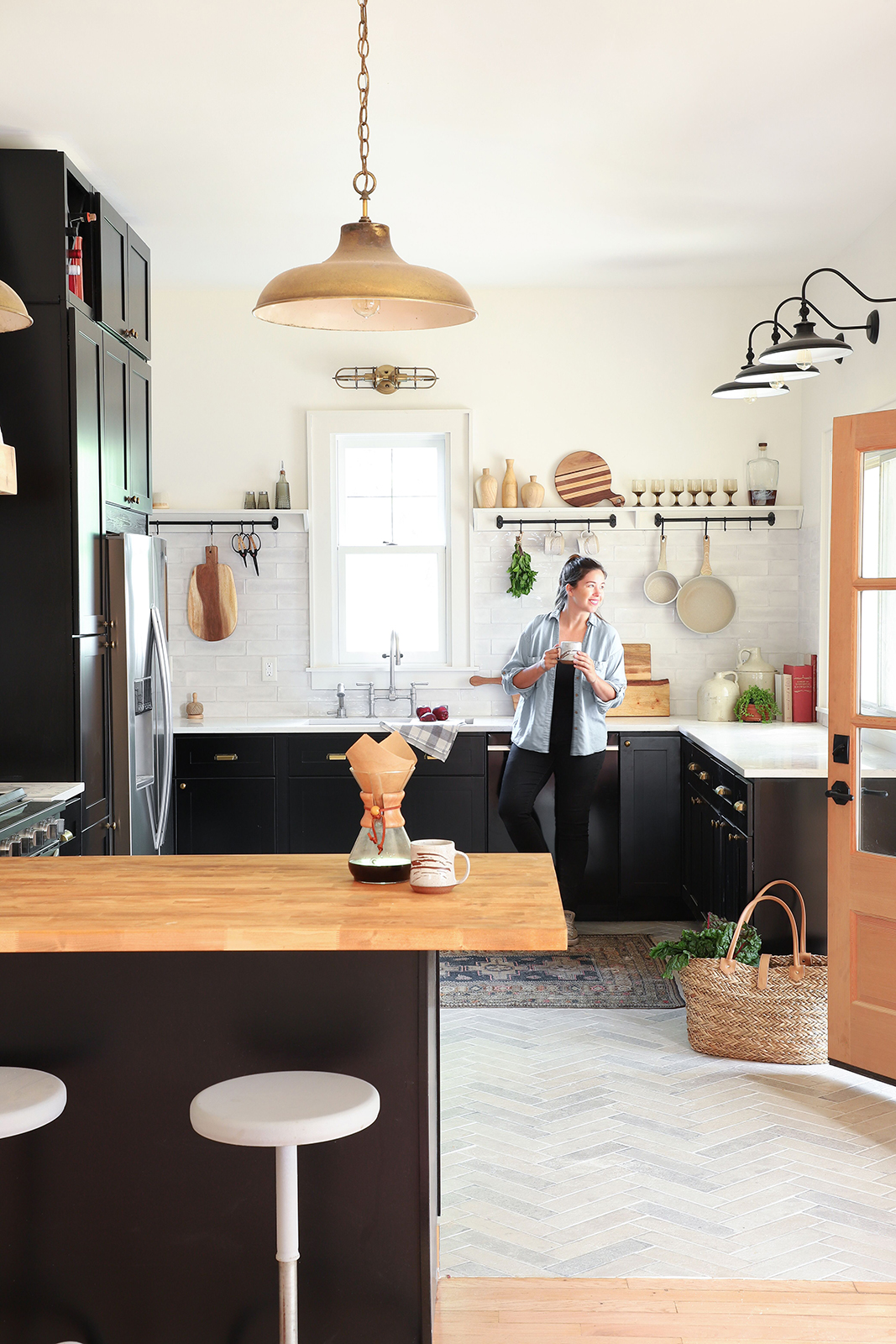 This Insta-Famous DIYer Flips Houses with Gorgeous Modern Rustic Style