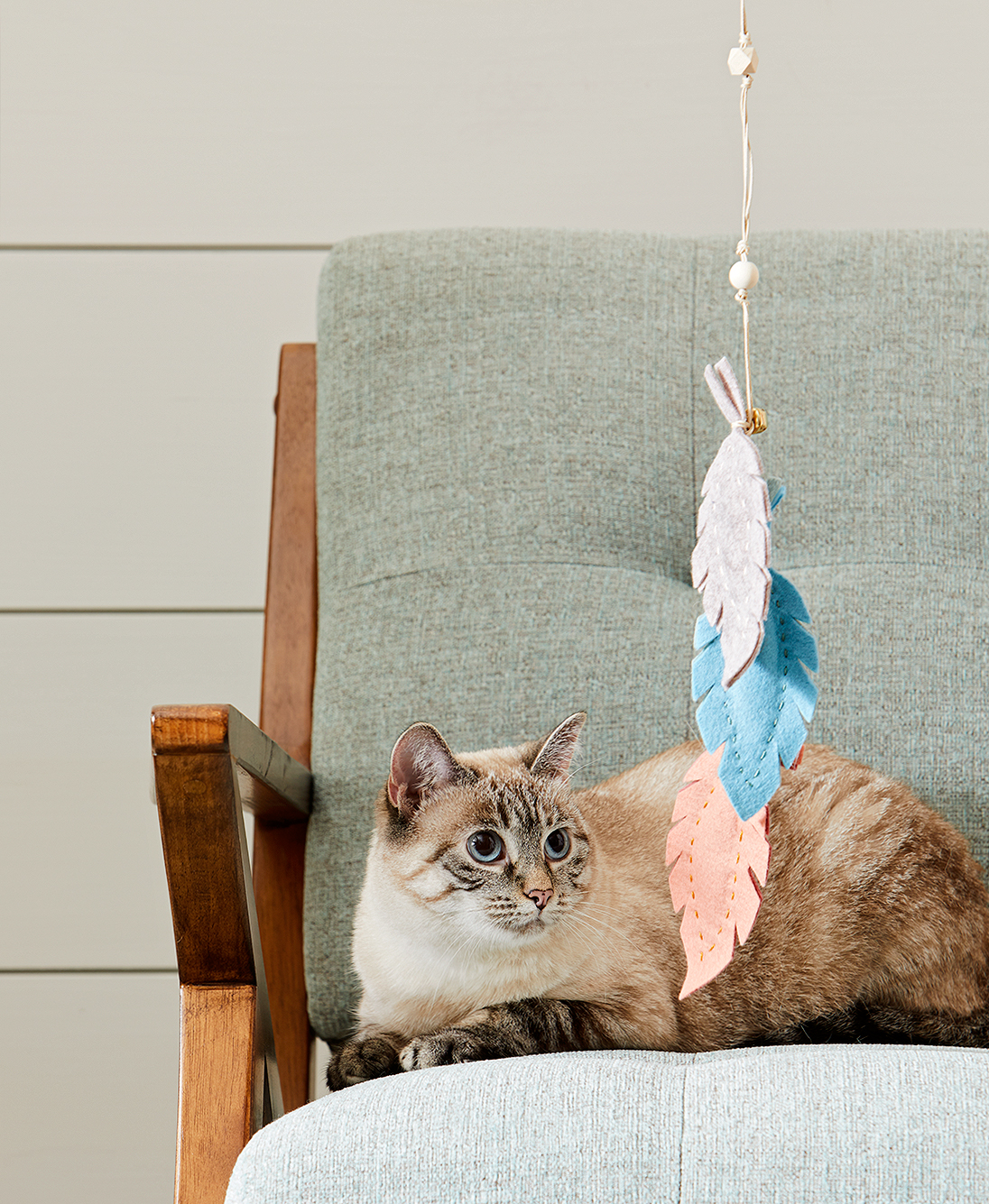 Make a DIY Felt Toy Your Cat Will Love