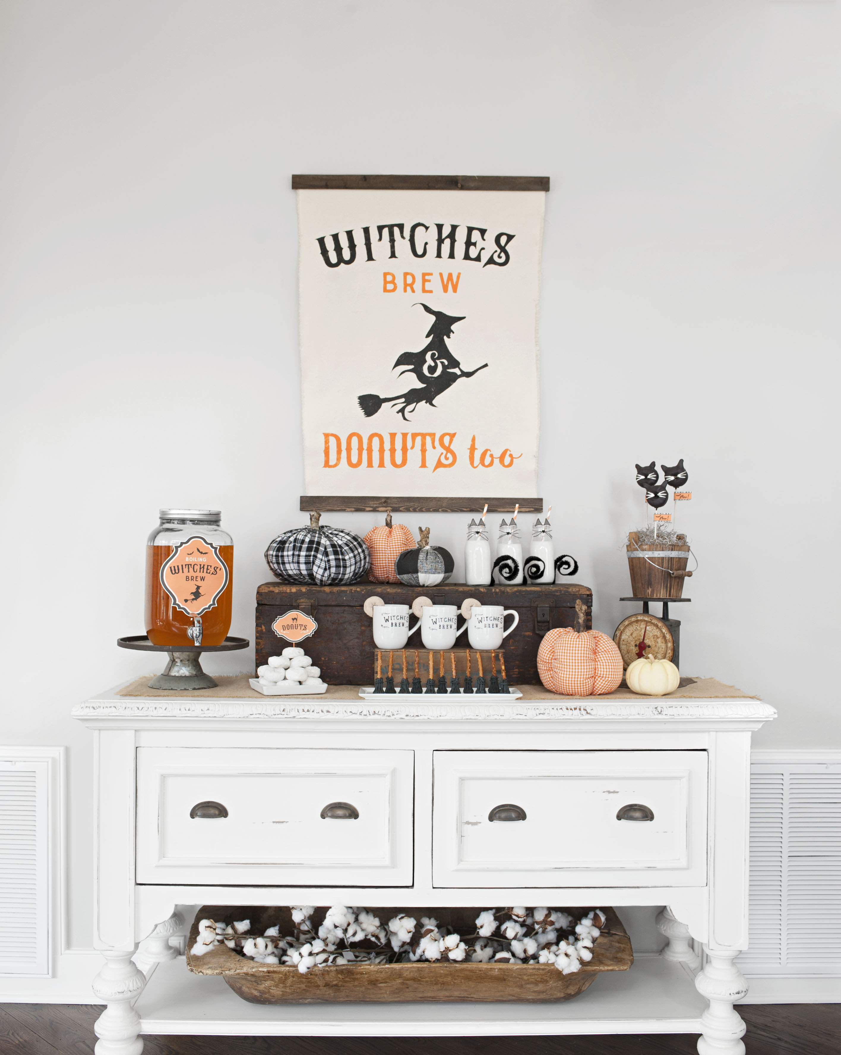 Wickedly Fun Witch Decorations For Halloween Better Homes