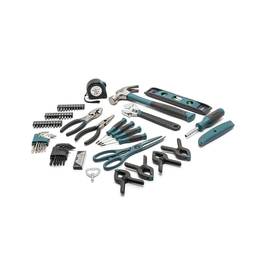 homeowners tool set blue handles