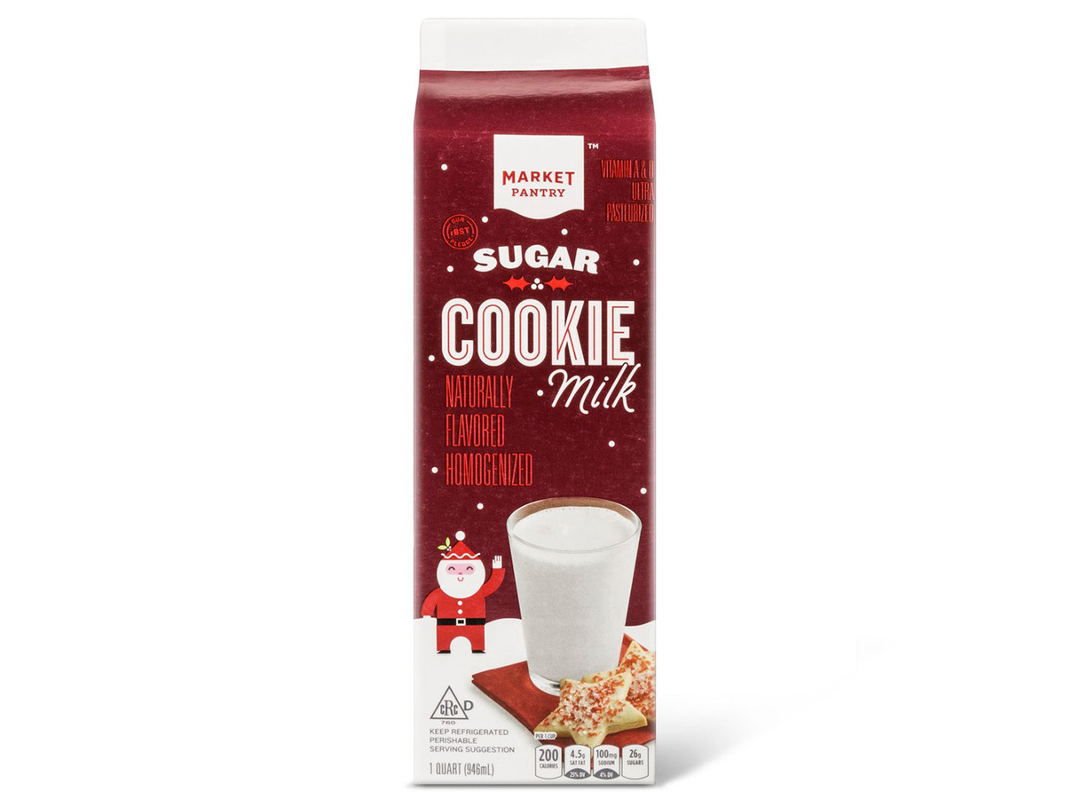 Sugar Cookie-Flavored Milk Is Here to Make Your Holidays Even Sweeter