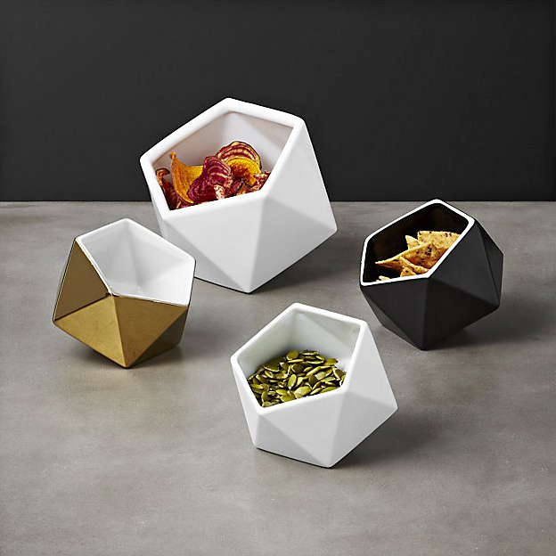 small geo serving bowls from cb2