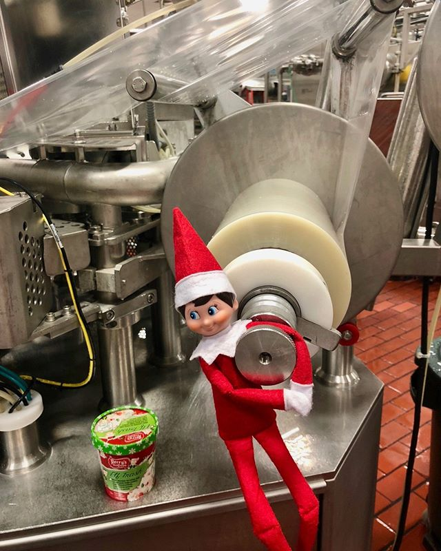 Elf Trash Ice Cream Instantly Earns a Spot on Our Christmas Wish Lists