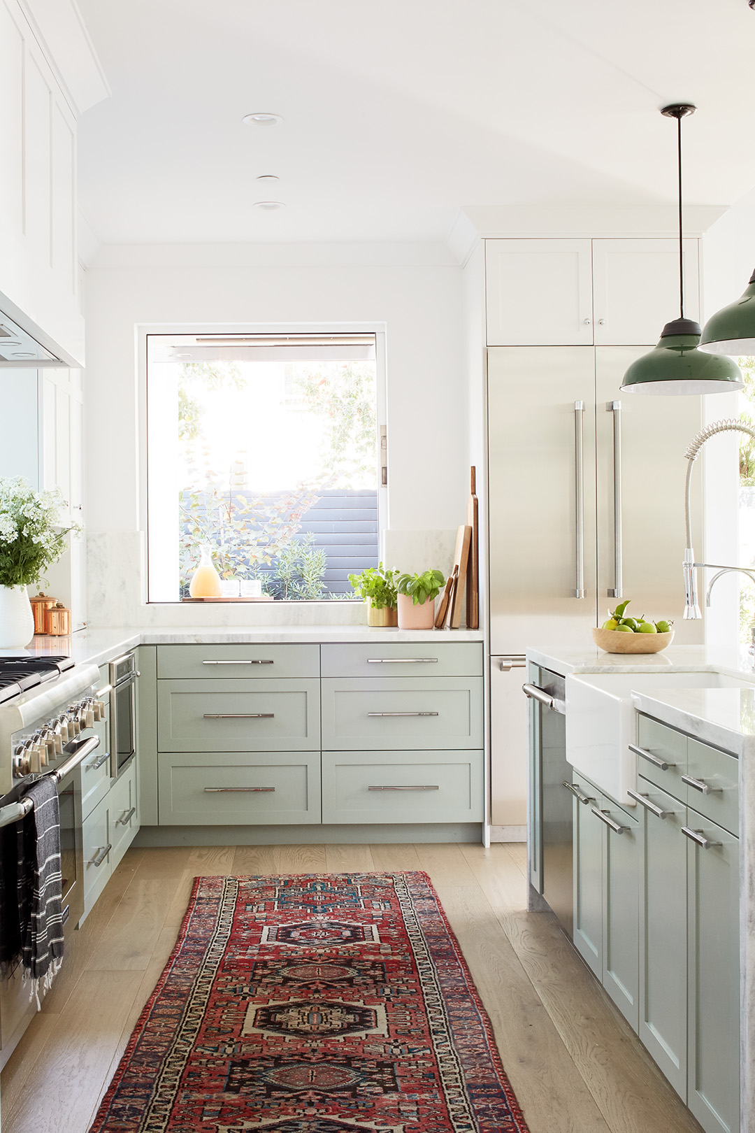 Persian Rugs are the Latest Kitchen Trend | Better Homes ...