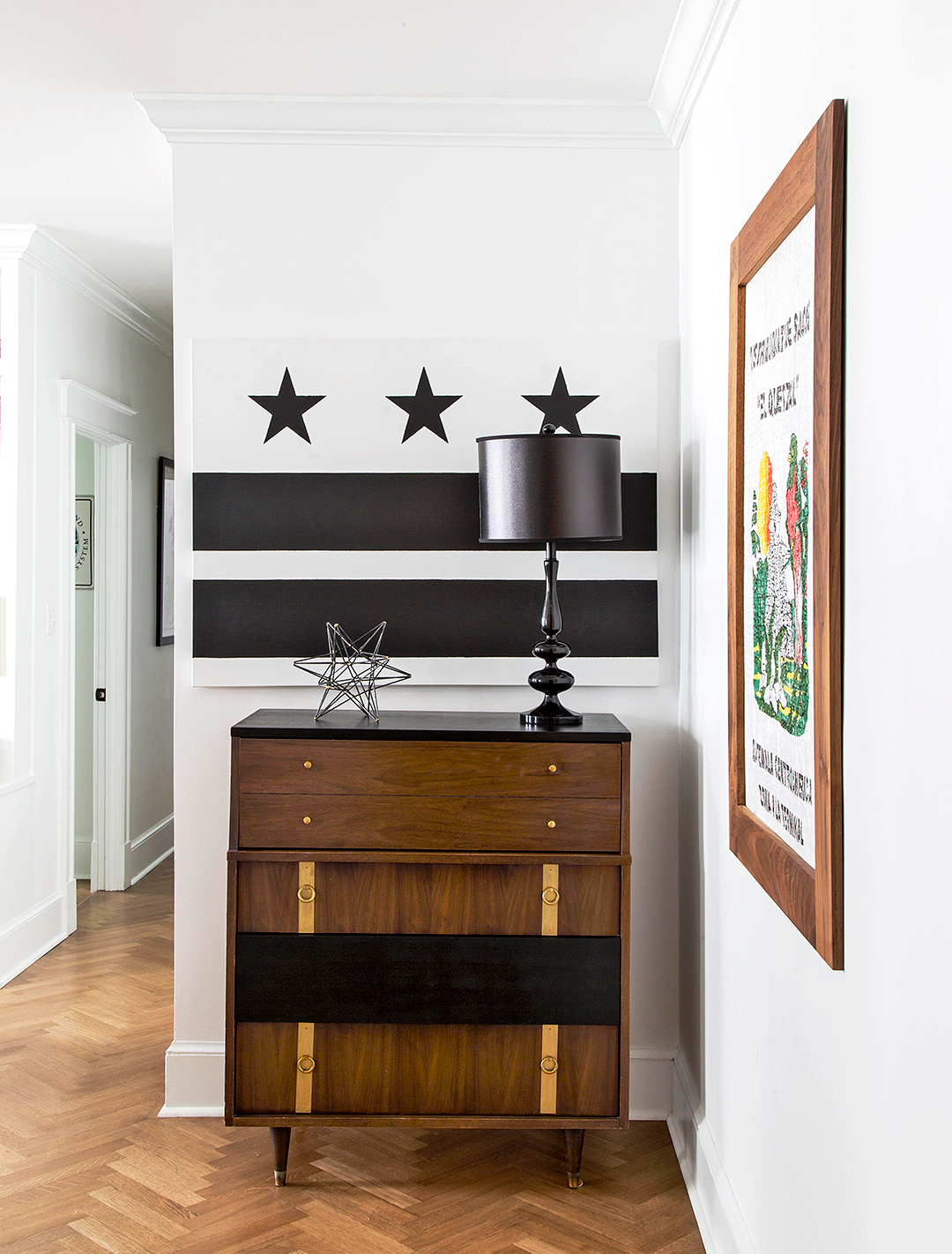 This Blank-Slate City Apartment Got an Eclectic Upgrade