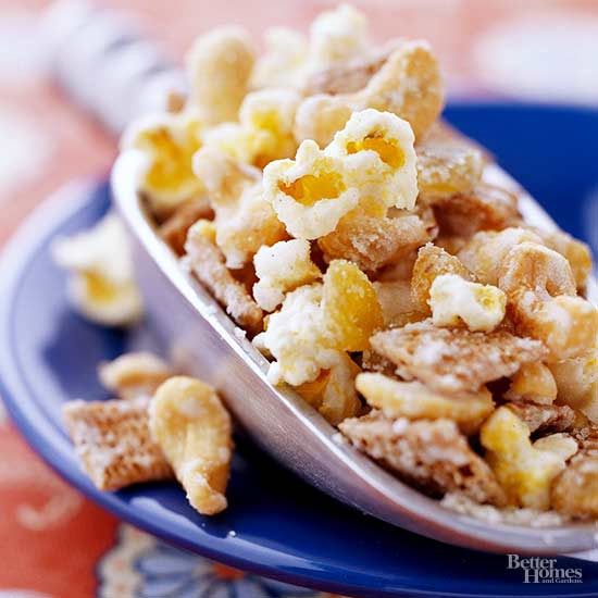 Sweet and Nutty Popcorn
