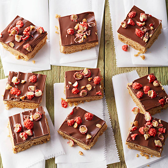 Candy-Crunch Peanut Butter Bars