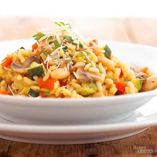 Risotto with Beans and Vegetables