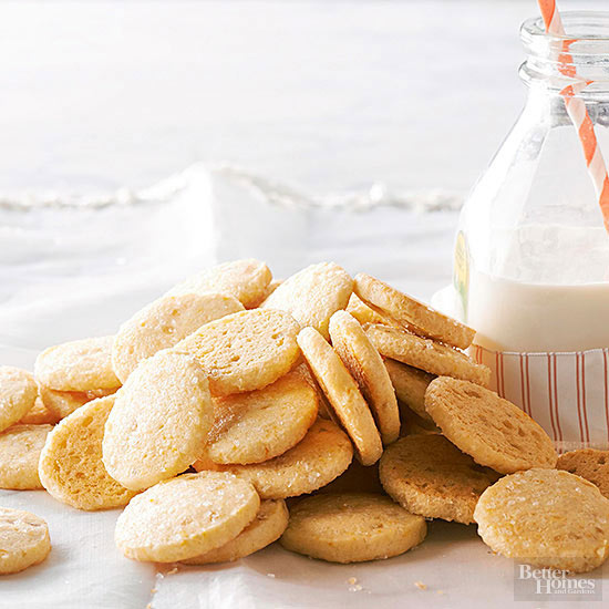 Candied Ginger and Orange Icebox Cookies
