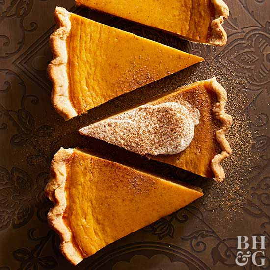 Chai-Spiced Pumpkin Pie