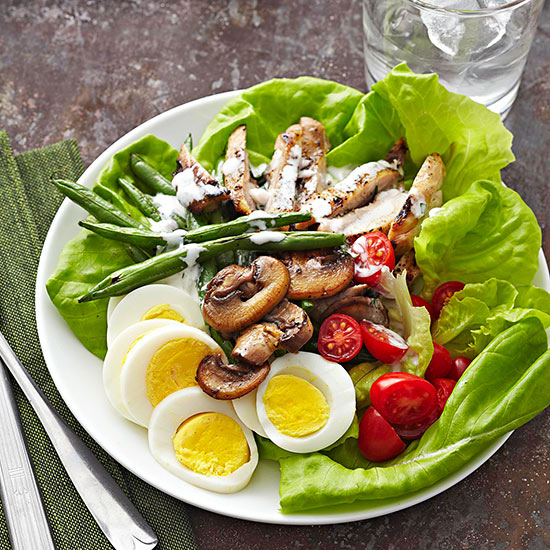Chicken Salad With Creamy Tarragon-Shallot Dressing