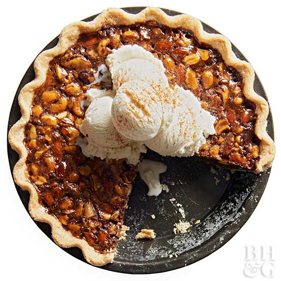 Chocolate Mixed Nut Pie