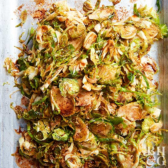 Cinnamon-Spiced Brussels Sprouts