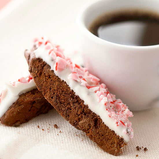 Double-Chocolate Peppermint Biscotti