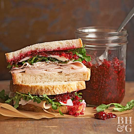 Cranberry-Lime Relish