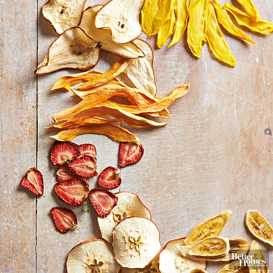Crispy Fruit Chips