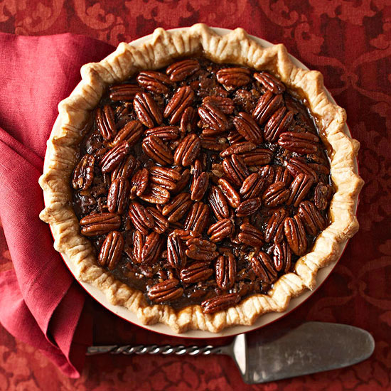 Choco-Honey Crunch Pecan Pie