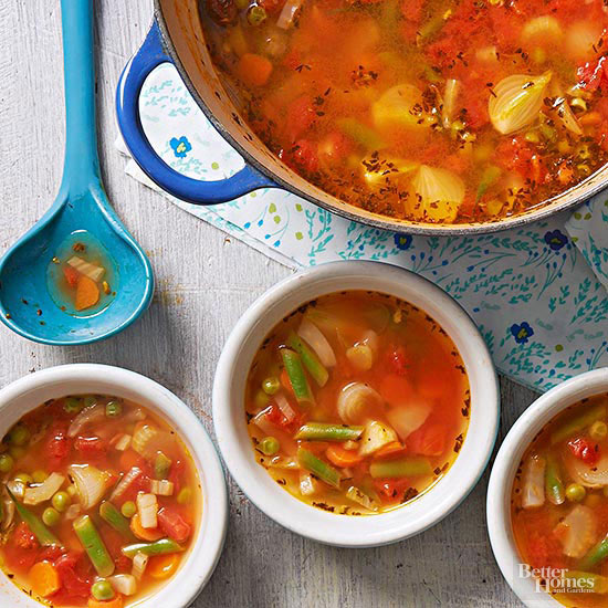 French Garden Soup