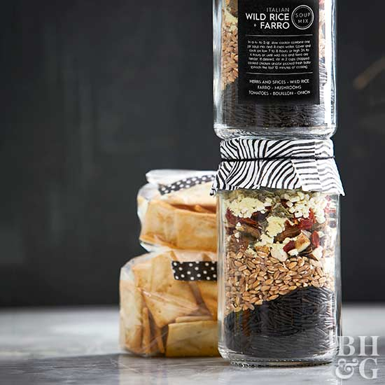 Italian Wild Rice and Farro Soup Mix with Wild Mushrooms