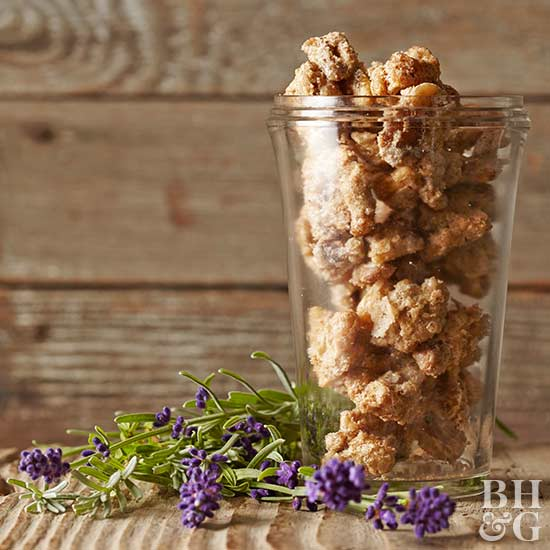 Lavender-Spiced Nuts