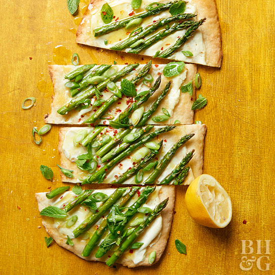 Make-It-Mine Flatbread for Each Season