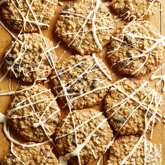 Maple-Raisin Oatmeal Cookies