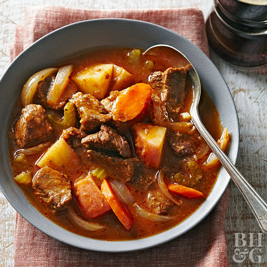 Slow Cooker Old Fashioned Beef Stew Better Homes Gardens