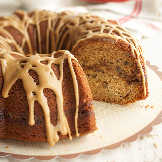 Pecan Browned-Butter Coffee Cake