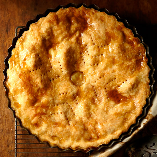 Maple, Apple, and Cheddar Pie
