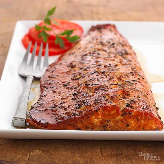 Maple Smoked Salmon Fillets Better Homes Gardens