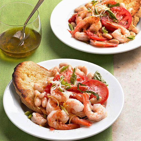 Shrimp and Bean Packets
