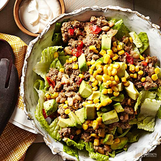 Slow Cooker Taco Salad