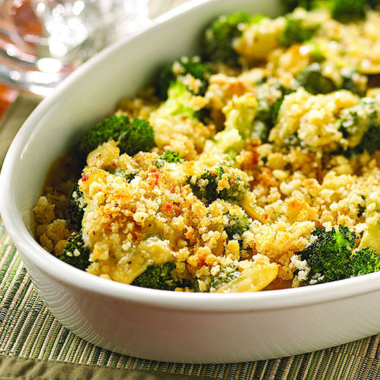 Smoky Gouda-Sauced Broccoli