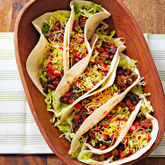 Spicy Buffalo Tacos