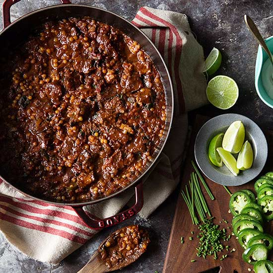 Steak and Soda Chili