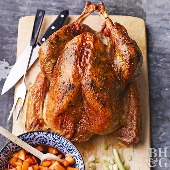 New England Grilled Turkey