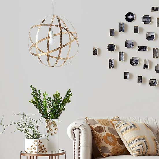 Make a Geometric Pendant Light