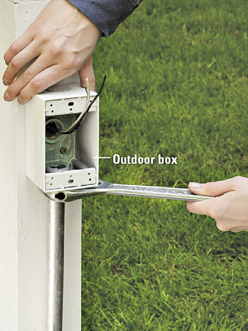 Fabulous How To Run Outdoor Cable Better Homes Gardens Wiring 101 Mecadwellnesstrialsorg