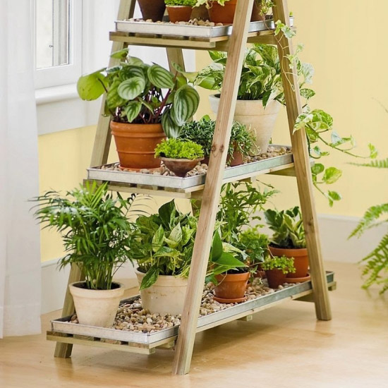 Do It Yourself Home Decorating Ideas: 5 Simple Ways To Make The Best DIY Plant Stands