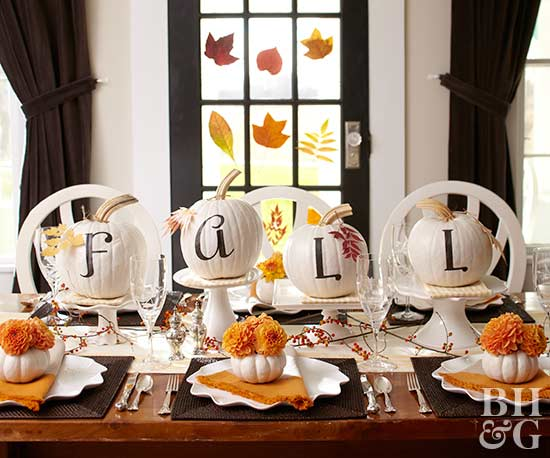 Dazzling Fall Tablescape